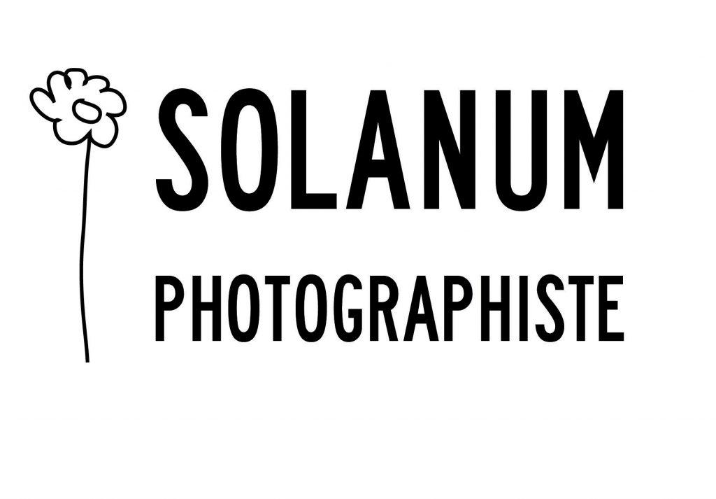 Logo Solanum PhotoGraphistes avec sa petite marguerite dessinée à main levée !!