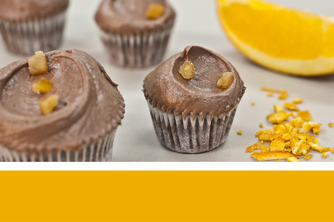 Cup cake chocolat citron