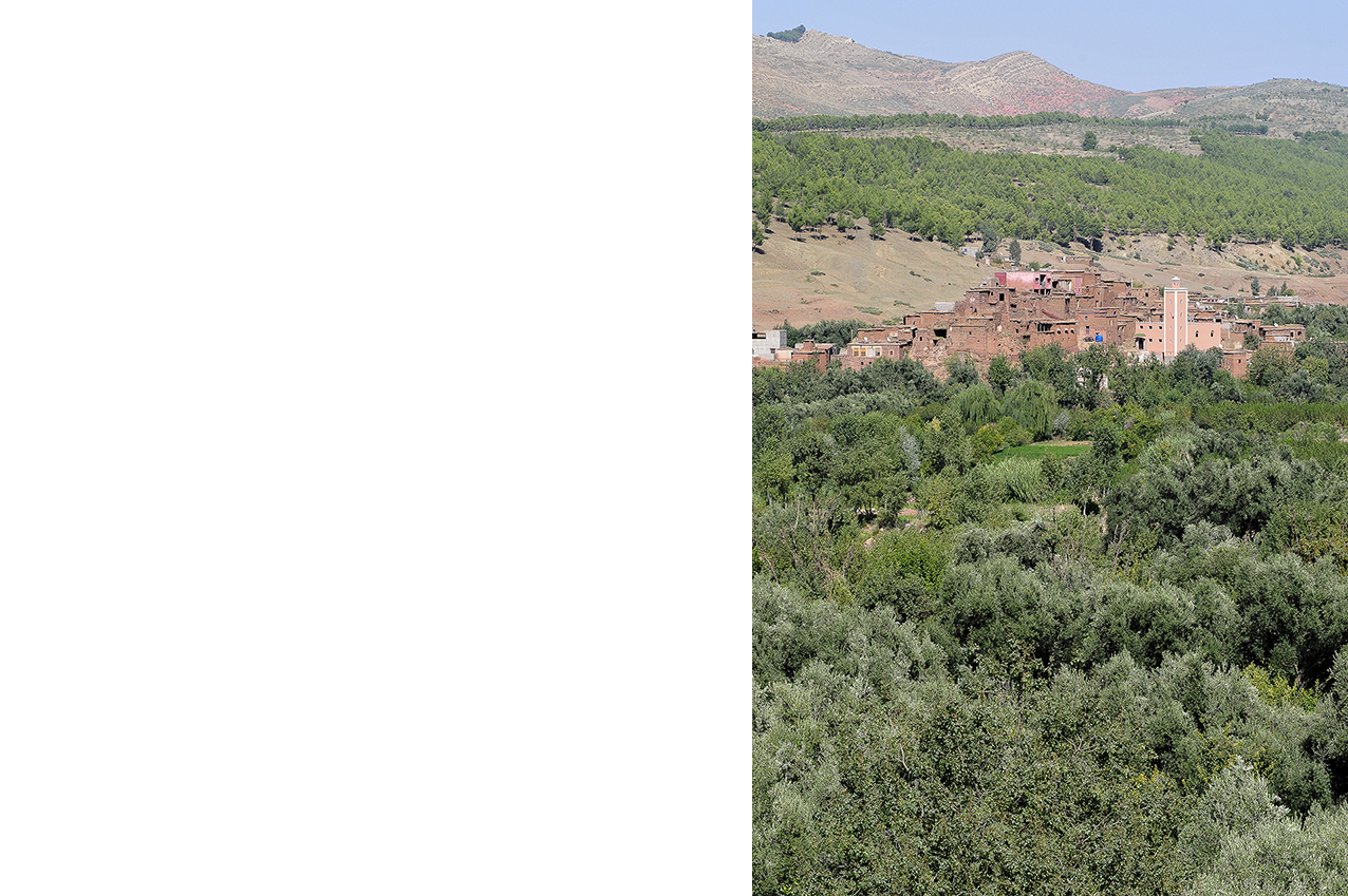 Village dans le Haut Atlas