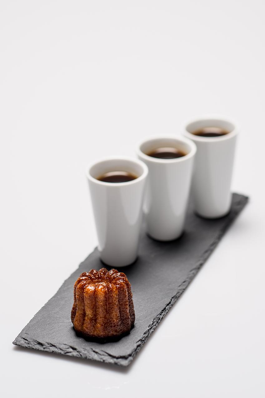 Café et Canelé spécialité bordelaise
