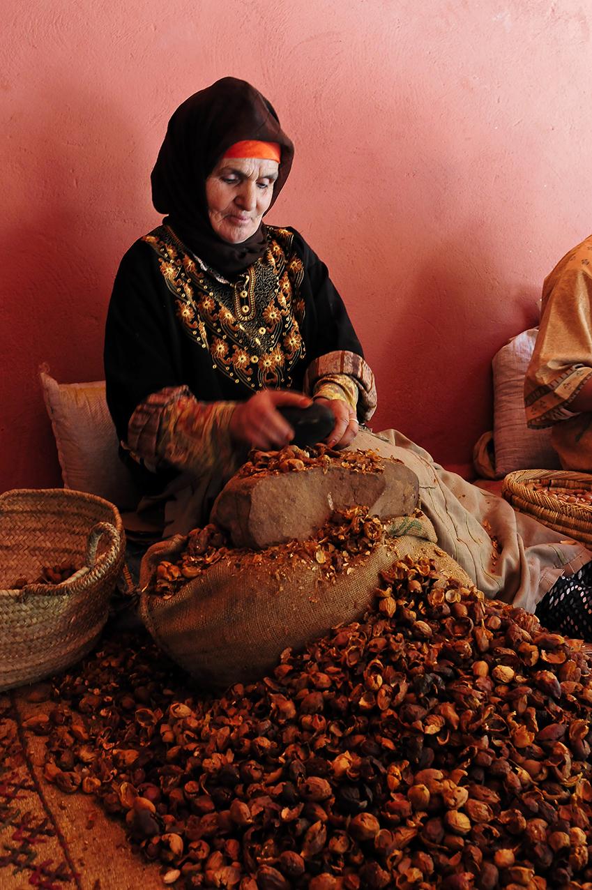 Association de femmes près d'Essaouira chargée d'exploiter l'Argent