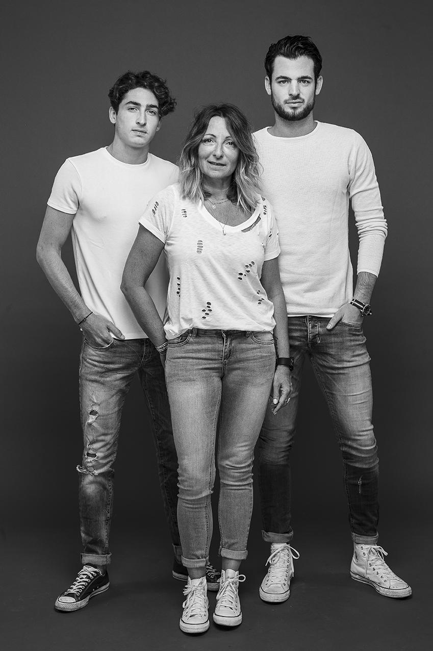 Trio en studio photo