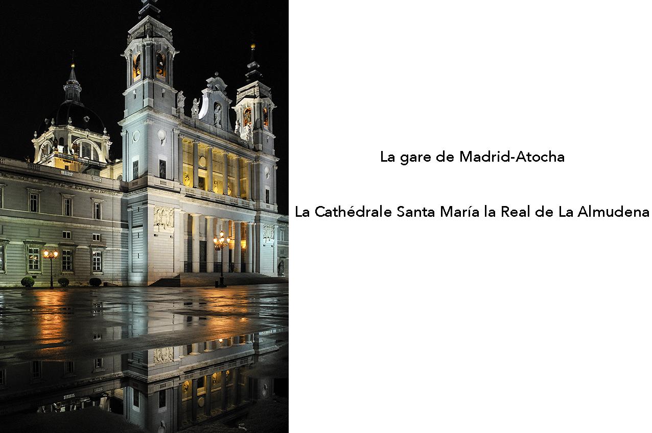Cathedrale Santa María La Real de La Almudena à Madrid