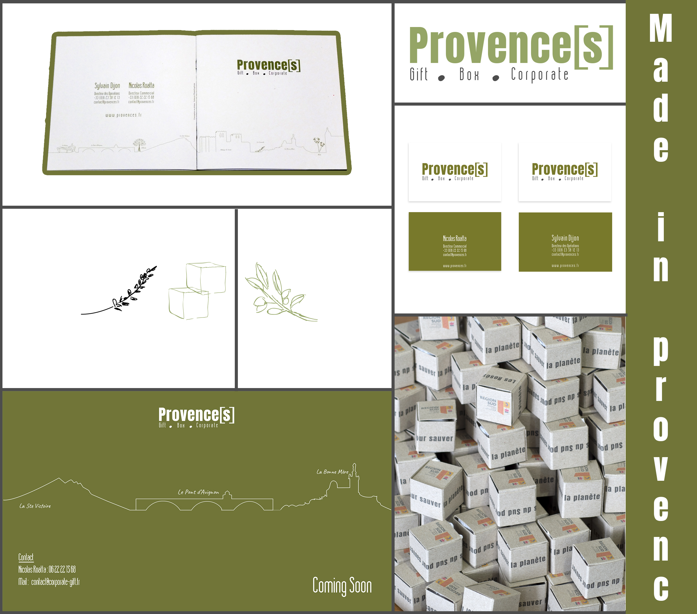 Spécialiste du cadeau d'entreprise produits 100% made in Provence
