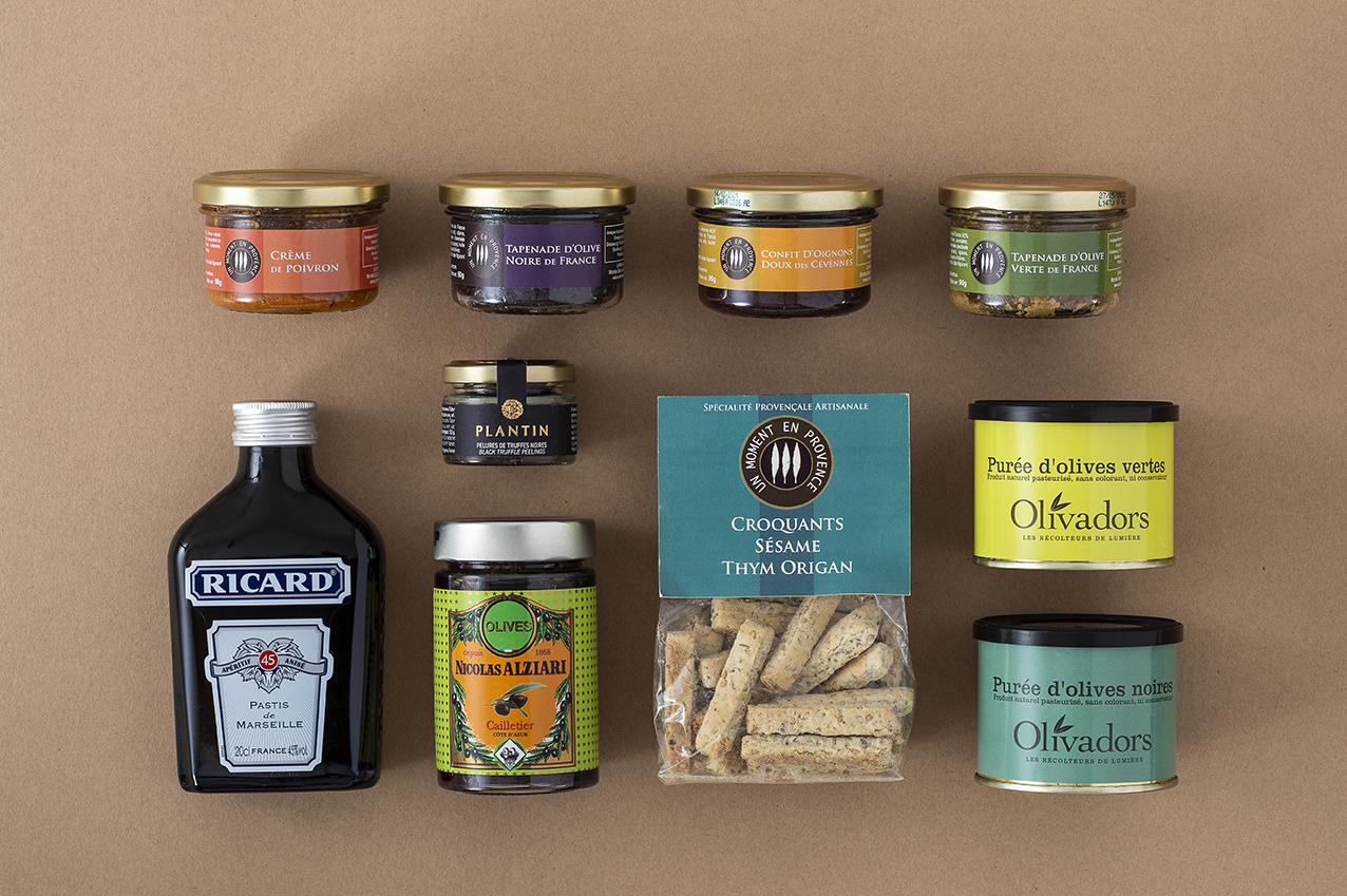 Pâtes à tartiner etc ... fabriquées en Provence
