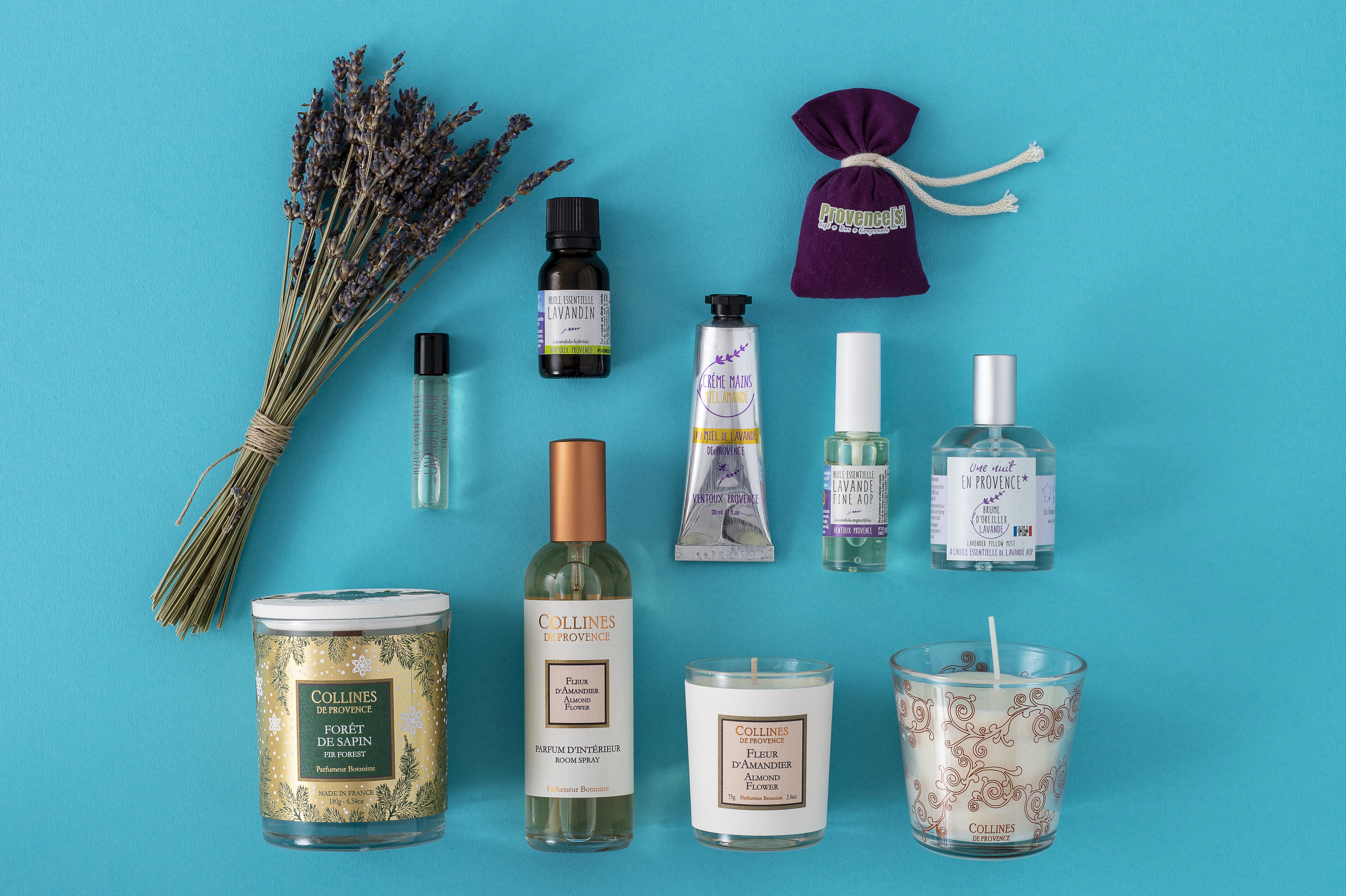 Produits cosmétiques fabriqués en provence