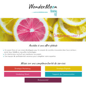 Flyer Wondermoon face 1