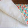 Coté pile, le tissu polaire extra blanc et extra doux