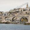 Le Vallon des Auffes de Marseille vu de la Mer