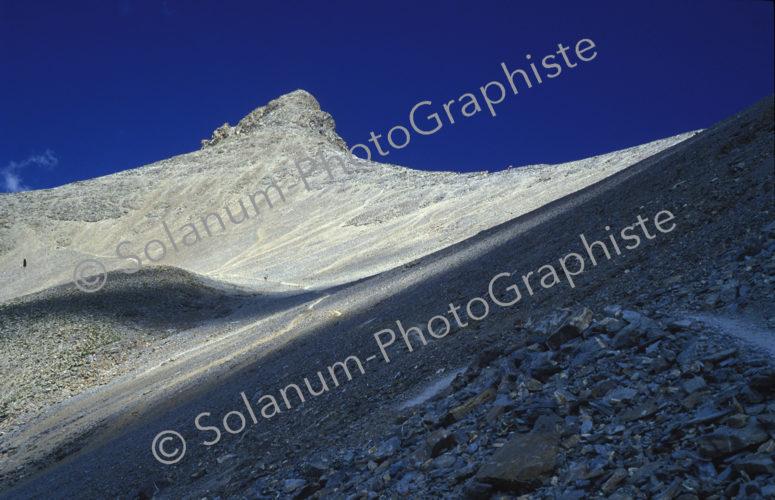 Le Mont Pelat dans les Alpes du Sud