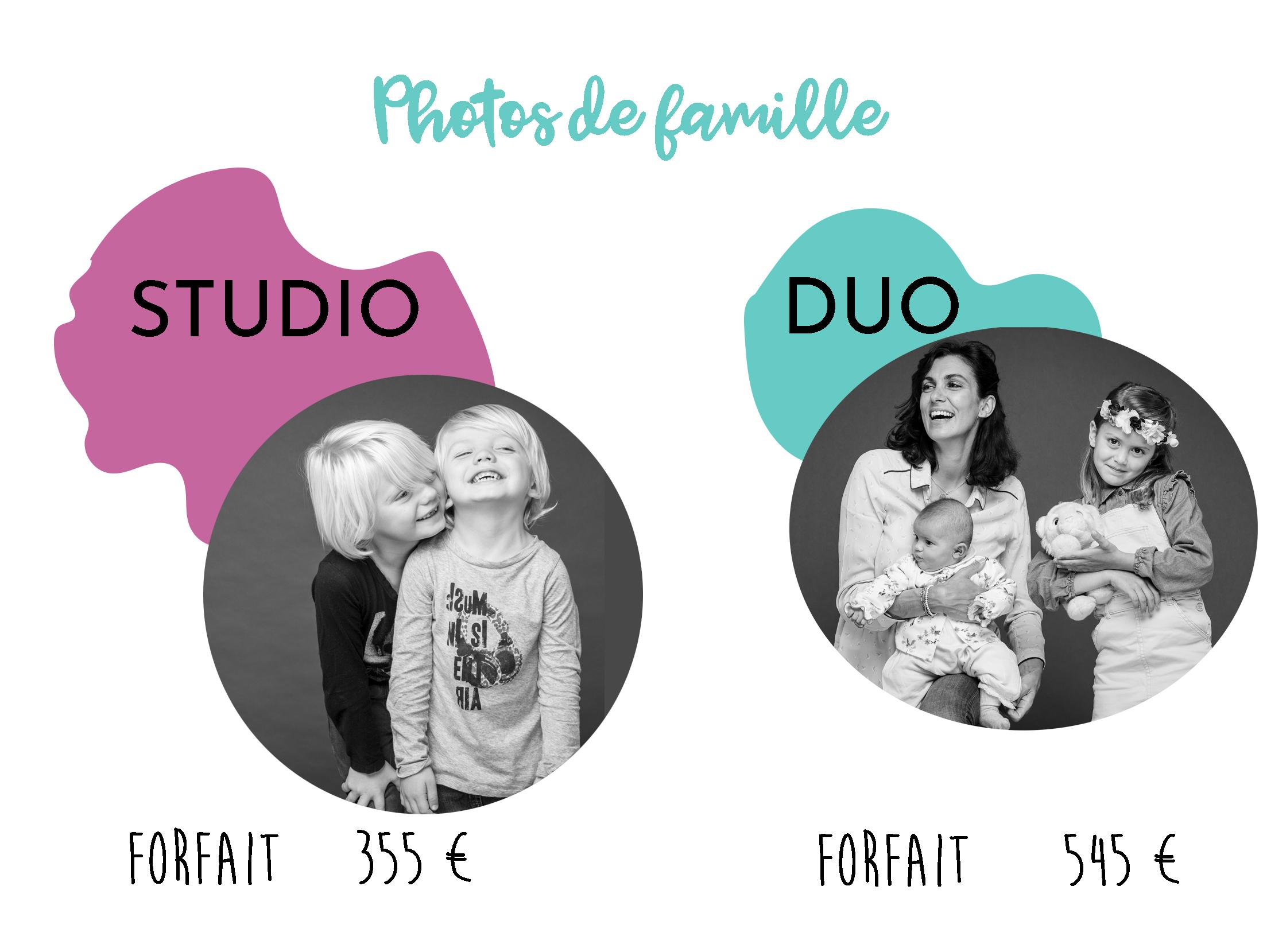 Tarifs photos de famille chez Solanum PhotoGraphiste à Marseille en 2021