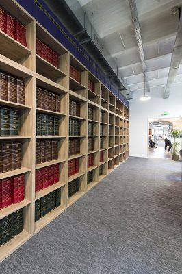 Bibliothèque notaire des Docks Marseille
