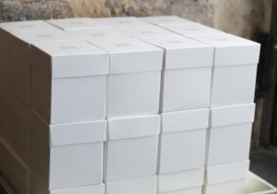 Boites créées sur mesure pour un antiquaire Marseillais