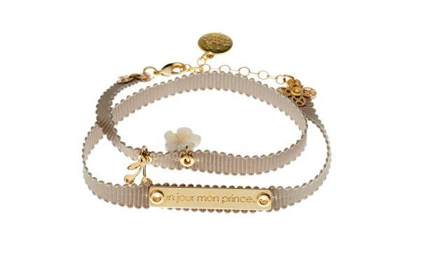 Bracelet ruban, nacre etc