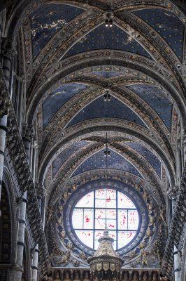 Cathédrale de Sienne Plafond de l'entrée