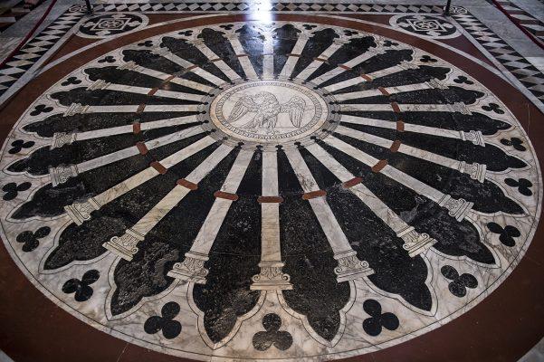 Cathédrale de Sienne Sol de l'entrée