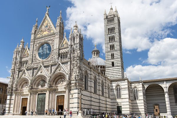 Façade de la Cathédrale de Sienne