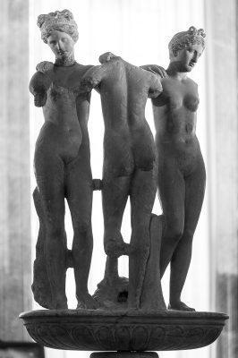 Les 3 traces dans la bibliothèque Piccolomin de la Cathédrale de Siennei