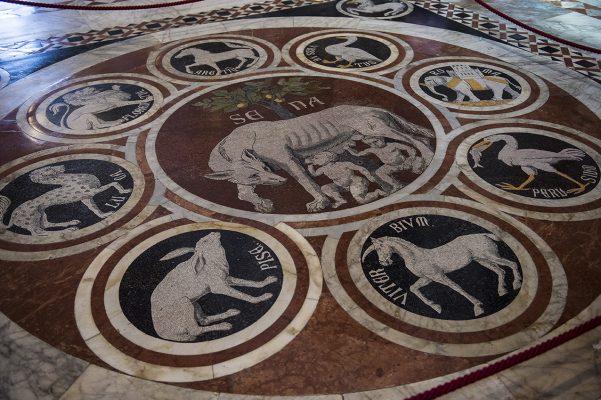 Cathédrale de Sienne sol