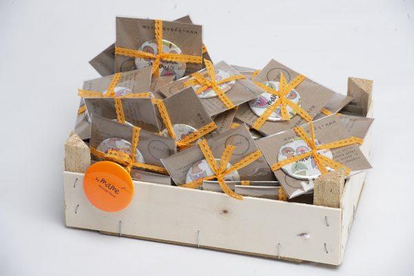 Goodies créées pour By Mamé pour la soirée organisée au Sofitel Marseille