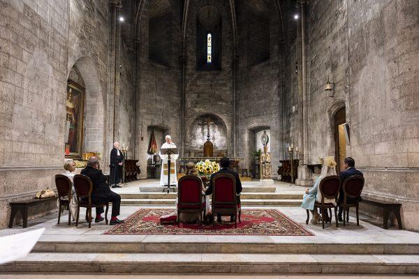 J&M Cérémonie religieuse à l'Abbaye Saint Victor de Marseille
