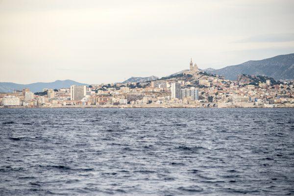 La bonne Mere Marseille vue du large