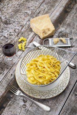 Pâtes au beurre et parmesan