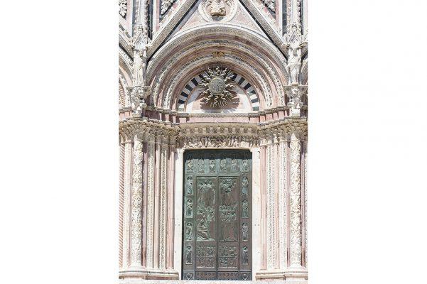 Porte de la Cathedrale de Sienne