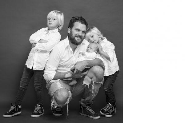 Seb S. et ses enfants
