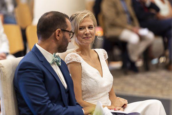 S&Z Moment de complicité durant la cérémonie de Mariage