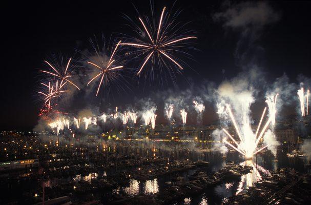 Feux d'artifice Vieux Port de Marseille
