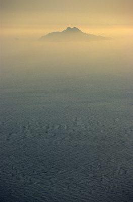 Ile au large de Cassis vue du Cap Canaille